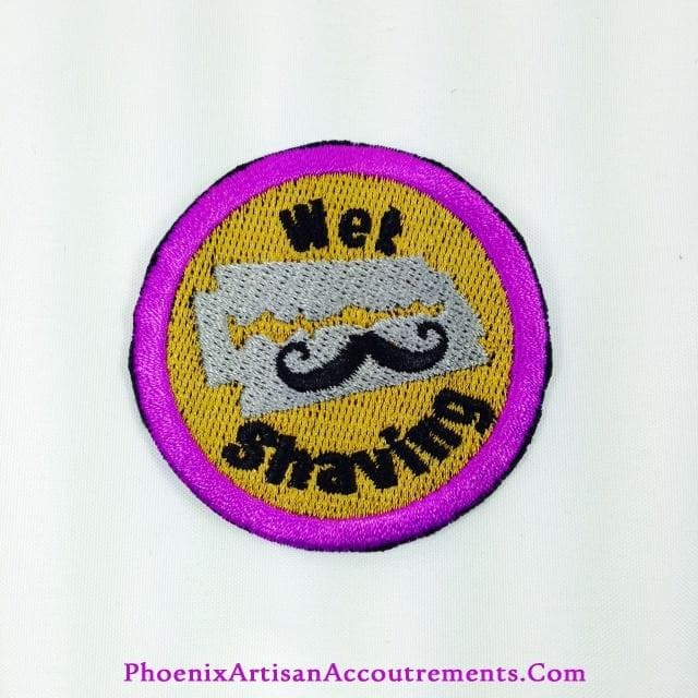 "2"" Official Un-Official Wet Shaving Merit Badge!"