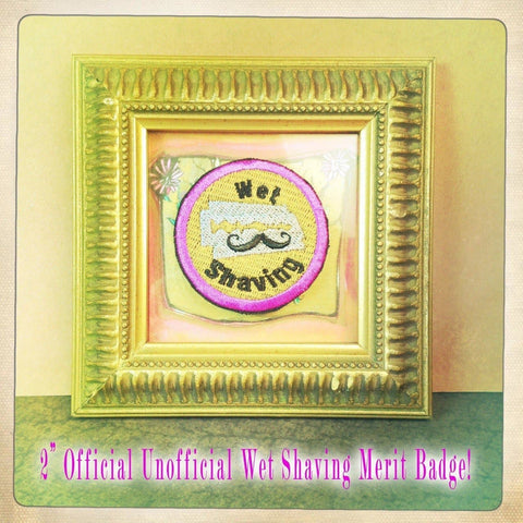 "2"" Official Un-Official Wet Shaving Merit Badge! - Phoenix Artisan Accoutrements - 2"