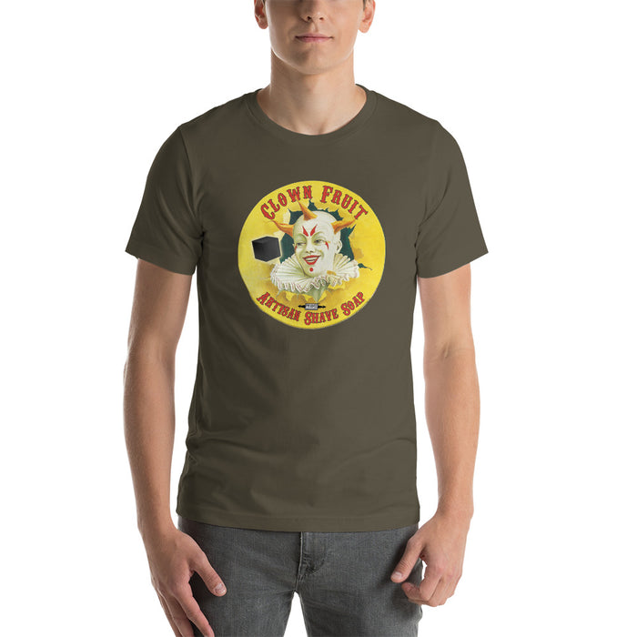 Clown Fruit 2020 Short-Sleeve Unisex T-Shirt | Front & Back Print! - Phoenix Artisan Accoutrements