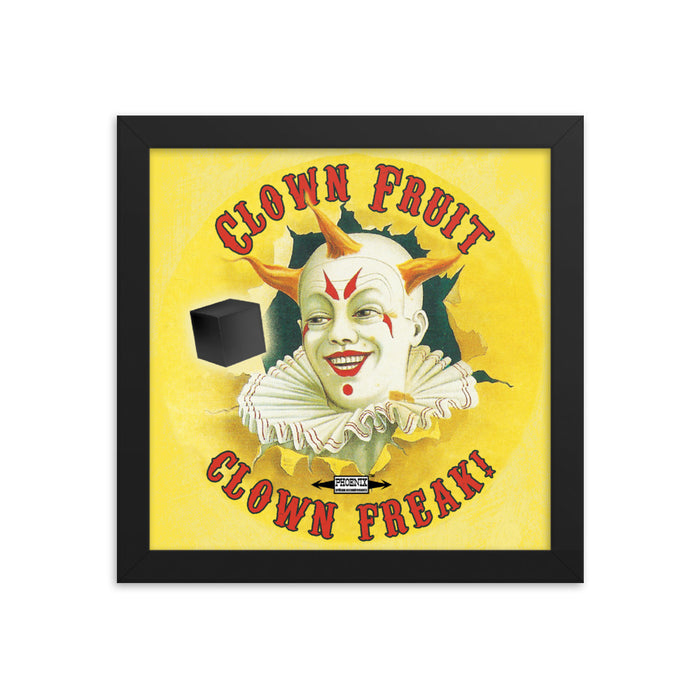 Clown Fruit 2020 Framed Print | Available in 5 Sizes!!!! - Phoenix Artisan Accoutrements