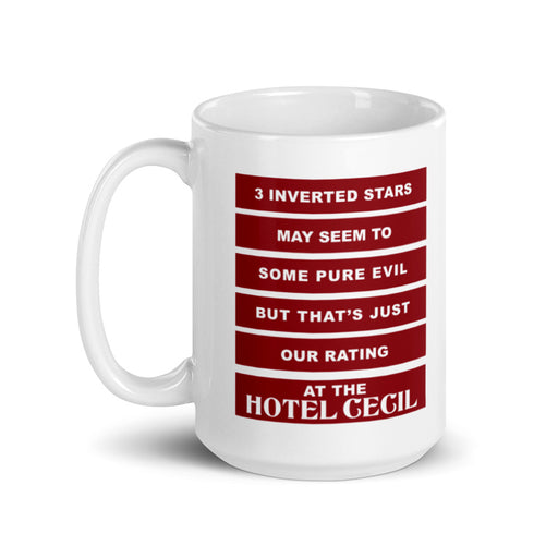 Hotel Cecil Coffee Mug | Available in 2 Sizes! - Phoenix Artisan Accoutrements