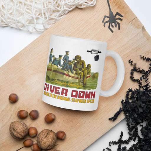 Diver Down Homage to the Original Seaforth Spiced! Coffee Mug - Phoenix Artisan Accoutrements