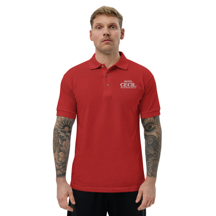 Hotel Cecil Embroidered Polo Shirt | 2 Color Options! - Phoenix Artisan Accoutrements
