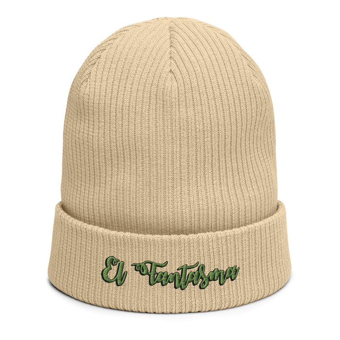 El Fantasma Organic ribbed beanie | Available in Multiple Colors | Embroidered - Phoenix Artisan Accoutrements