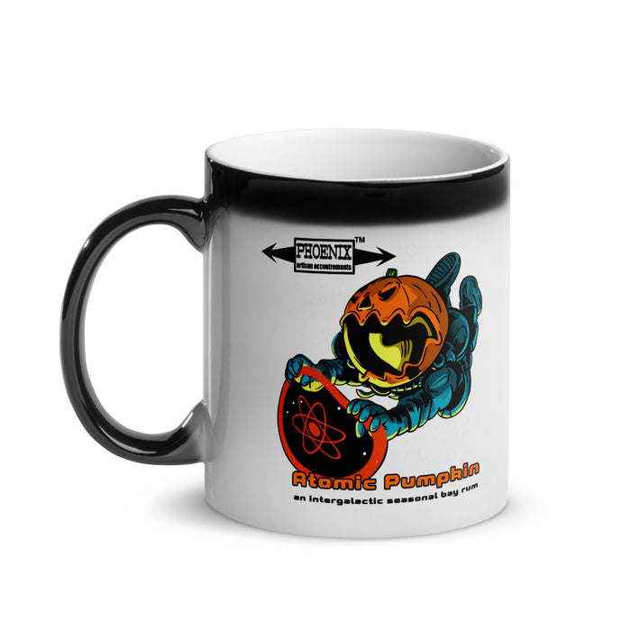 Atomic Pumpkin Glossy Magic Coffee Mug! - Phoenix Artisan Accoutrements