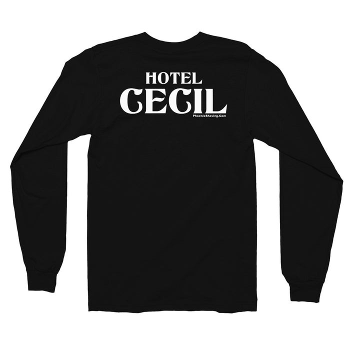"Hotel Cecil ""All's Well That Ends Well!"" Long sleeve t-shirt 