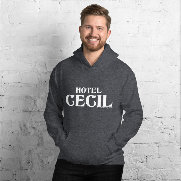 Hotel Cecil Unisex Hoodie - Phoenix Artisan Accoutrements