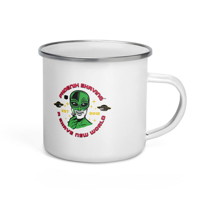 St. Martin's Land Classic Camper's Enamel Mug - Phoenix Artisan Accoutrements