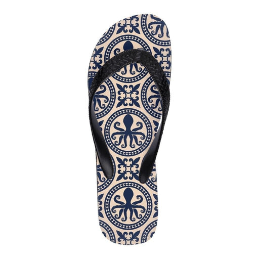 Octo Gone Collection Flip Flops - Classic Comfort & Feel! - Phoenix Artisan Accoutrements