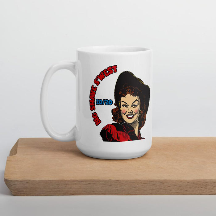 Official Big Shave S'west 20/20 Coffee Mugs | Available in 2 Sizes - Phoenix Artisan Accoutrements