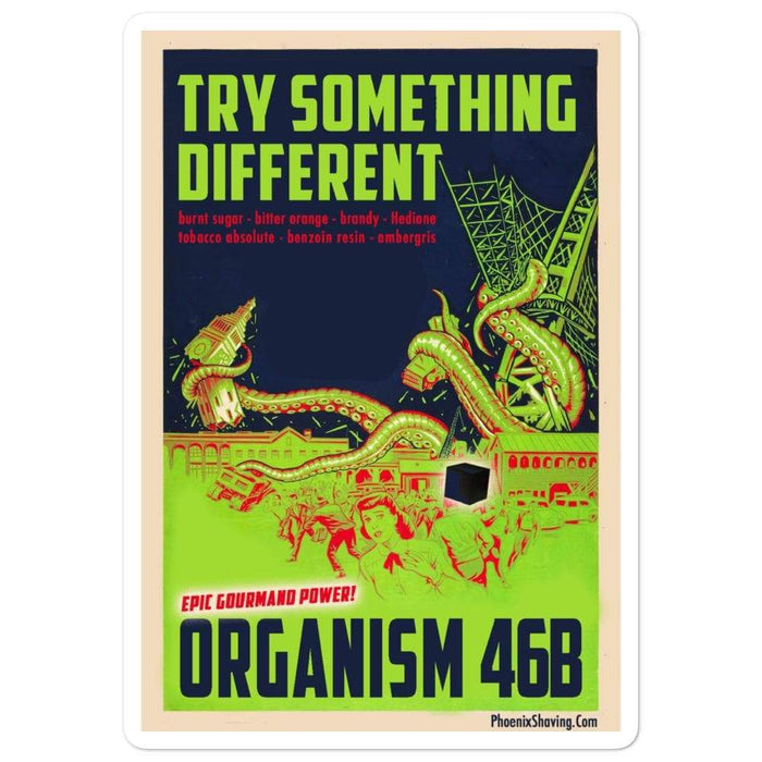 Organism 46b Vinyl Sticker | Available in 3 sizes! - Phoenix Artisan Accoutrements