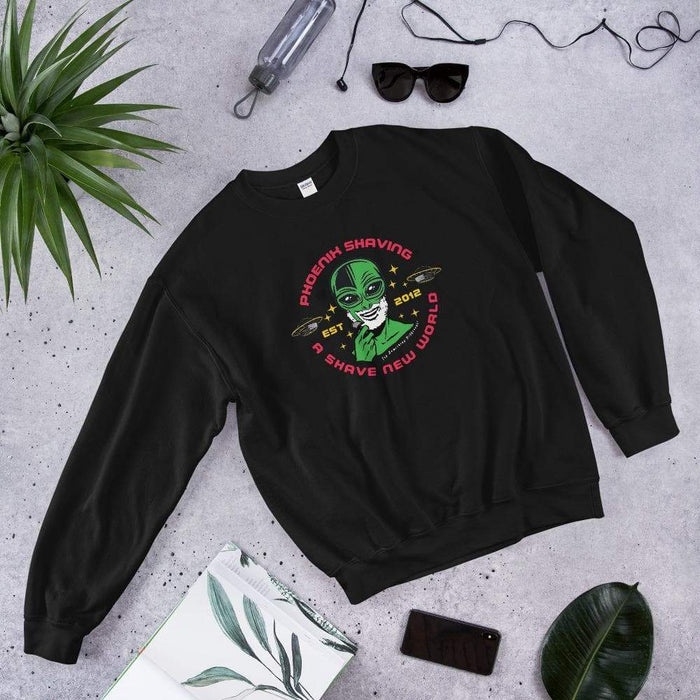 Phoenix Shaving Alien Epic Sweatshirt (Astro Traveler) - Phoenix Artisan Accoutrements