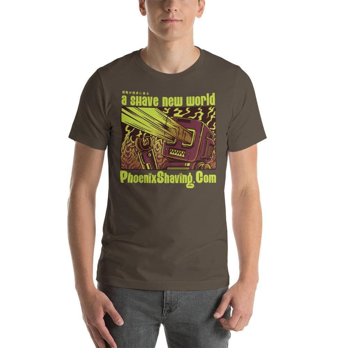 Phoenix Shaving Bad Robot Short-Sleeve Unisex T-Shirt Two - Phoenix Artisan Accoutrements