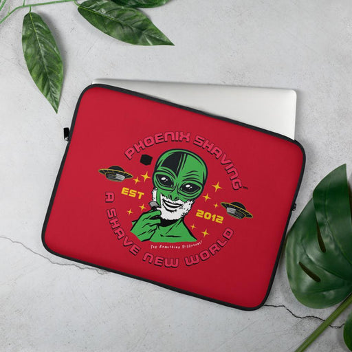 Phoenix Shaving EPIC Laptop Sleeve | Available in 2 Sizes | Red - Phoenix Artisan Accoutrements