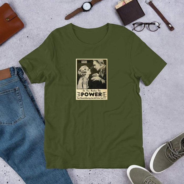 Phoenix Shaving Power Short-Sleeve Unisex T-Shirt - Phoenix Artisan Accoutrements