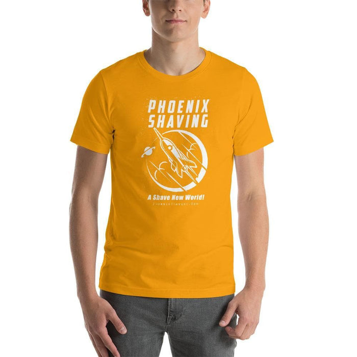 Phoenix Shaving Rocket Short-Sleeve Unisex T-Shirt - Phoenix Artisan Accoutrements