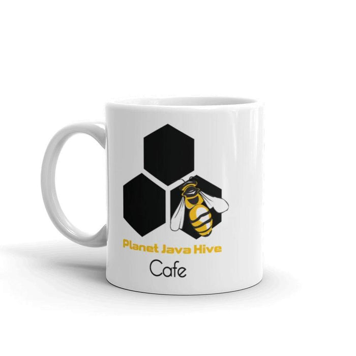 Planet Java Hive Cafe Coffee Mug - Phoenix Artisan Accoutrements