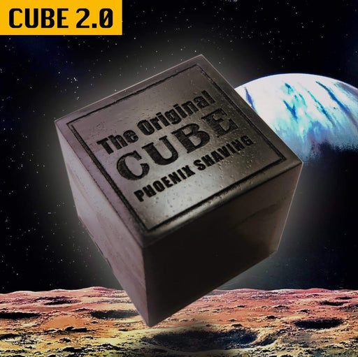 CUBE 2.0 | 8oz Preshave Soap - New & Improved! Now a 1/2 Lb of EPIC SLICK! Expand Your Limits! - Phoenix Artisan Accoutrements