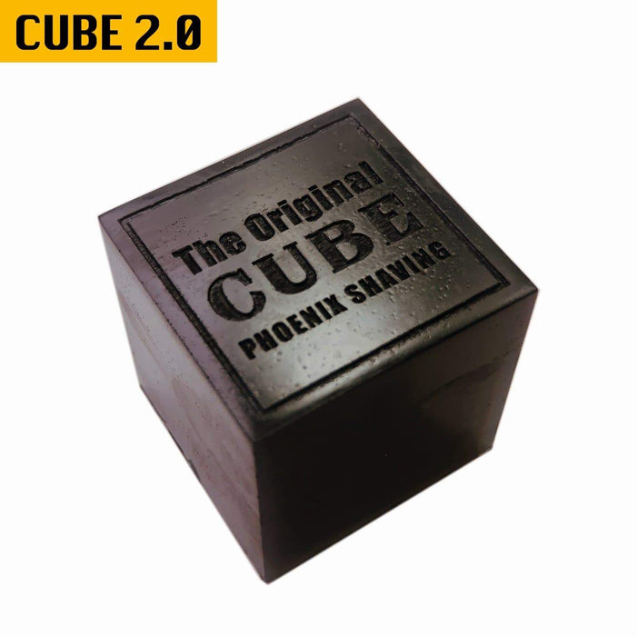 CUBE 2.0 | 8oz Preshave Soap | New & Improved! Now a 1/2 Lb of EPIC SLICK! Expand Your Limits! - Phoenix Artisan Accoutrements