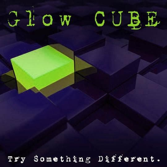 Glow CUBE 2.0 | 8 oz Preshave Soap - Seasonal & Scentless - Glows In The Dark! - Phoenix Artisan Accoutrements