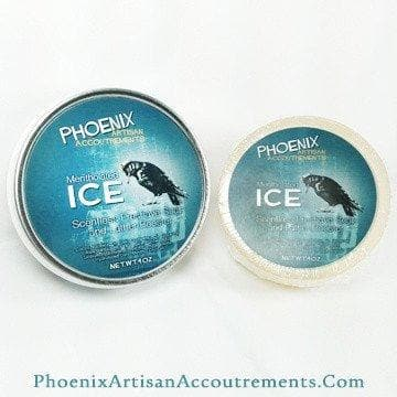 ICE Scentless Pre-Shave Soap and Lather Booster (Mentholated, Aloe) - Phoenix Artisan Accoutrements