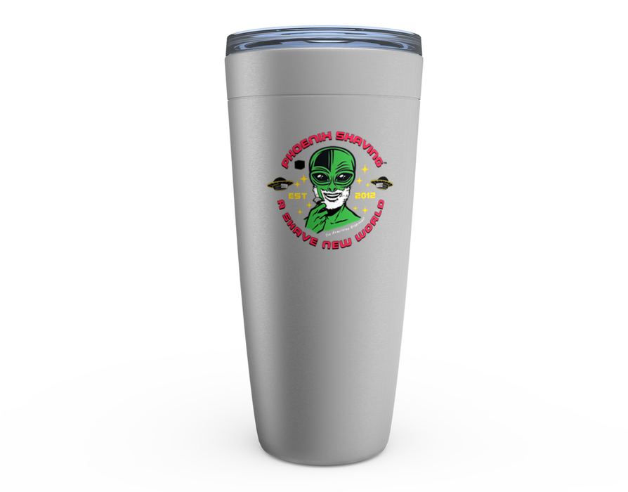 Official Phoenix Shaving Alien Viking Tumblers | For Hot & Cold Drinks! - Phoenix Artisan Accoutrements