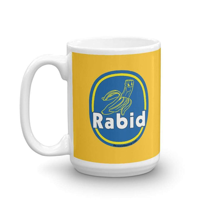 Rabid Banana Coffee Mug | Available in 2 Sizes! - Phoenix Artisan Accoutrements