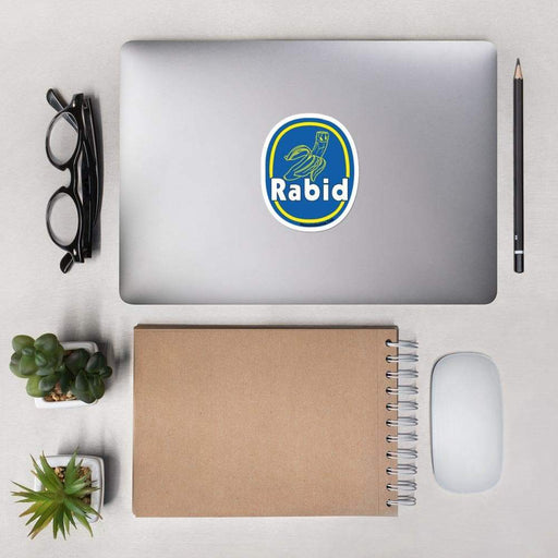 Rabid Banana Vinyl Sticker | Available in 3 Sizes - Phoenix Artisan Accoutrements