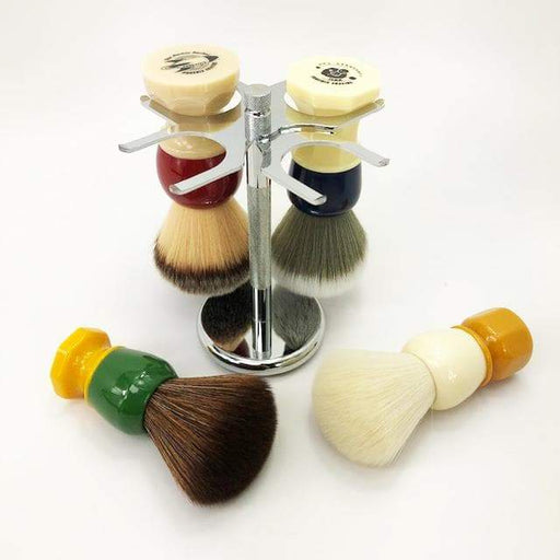 4 Prong Brush Stand by Phoenix Shaving - Phoenix Artisan Accoutrements