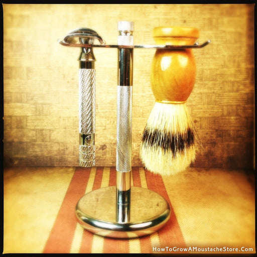 Razor and Brush Stand - Phoenix Artisan Accoutrements