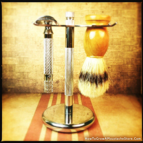 Razor and Brush Stand - Phoenix Artisan Accoutrements - 1