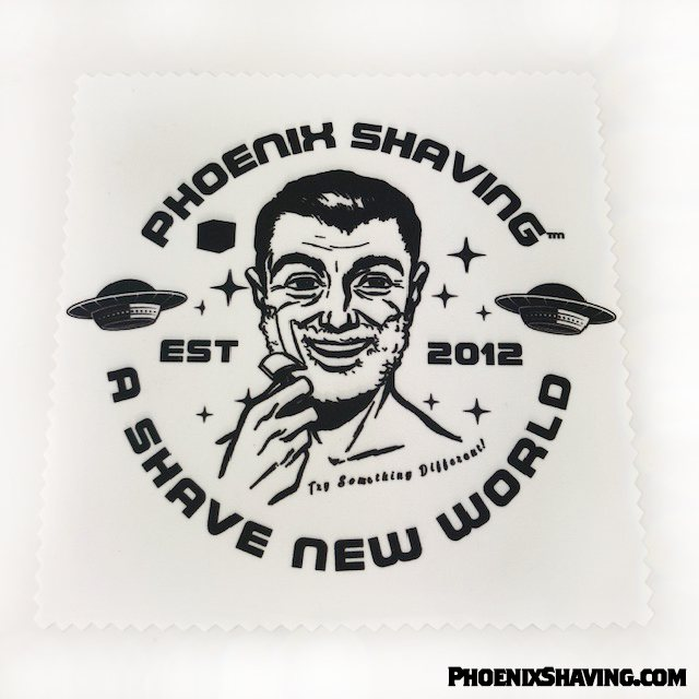 Razor Cleaning & Polishing Microfiber Cloth - Phoenix Artisan Accoutrements