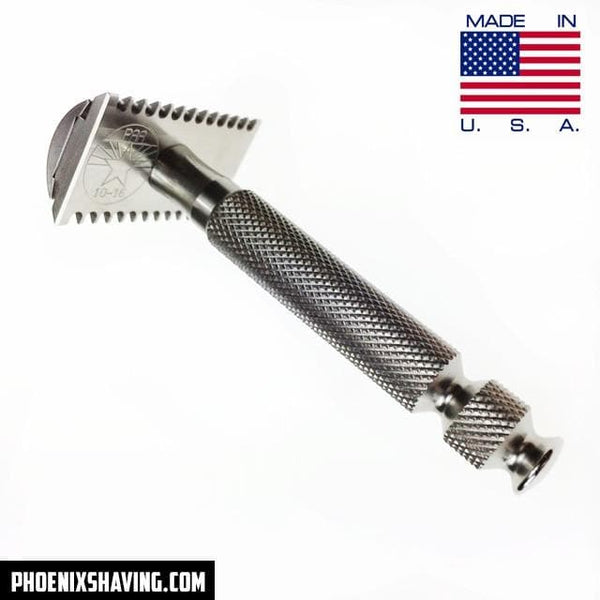 Safety Razors - The DOC Evolution Stainless Steel Safety Razor - 304 Stainless Steel With Bomb Tip Handle
