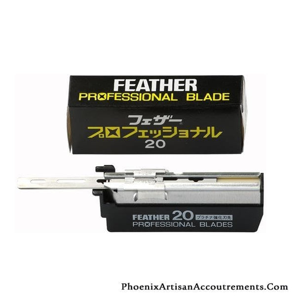 Feather Professional Injector Blades - 20 Blades - Phoenix Artisan Accoutrements