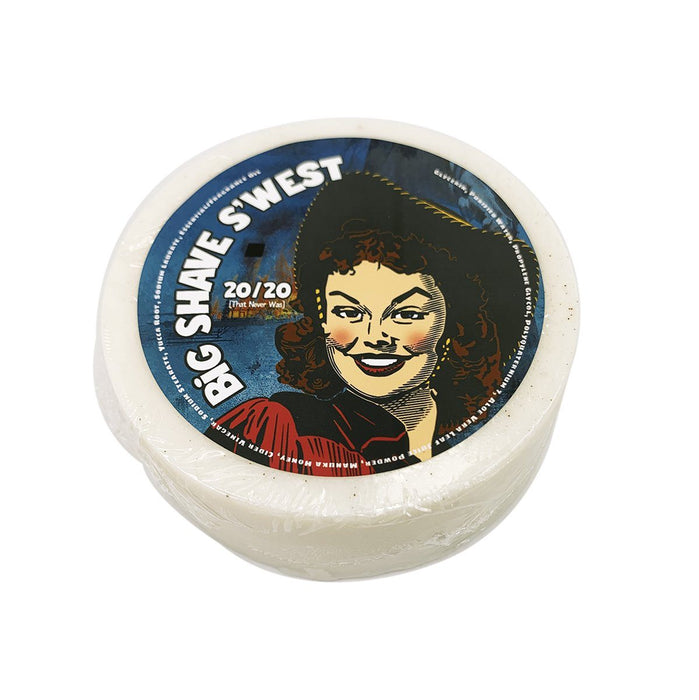 Big Shave S'west 20/20 Conditioning Shampoo Puck | A Western Attar - Phoenix Artisan Accoutrements