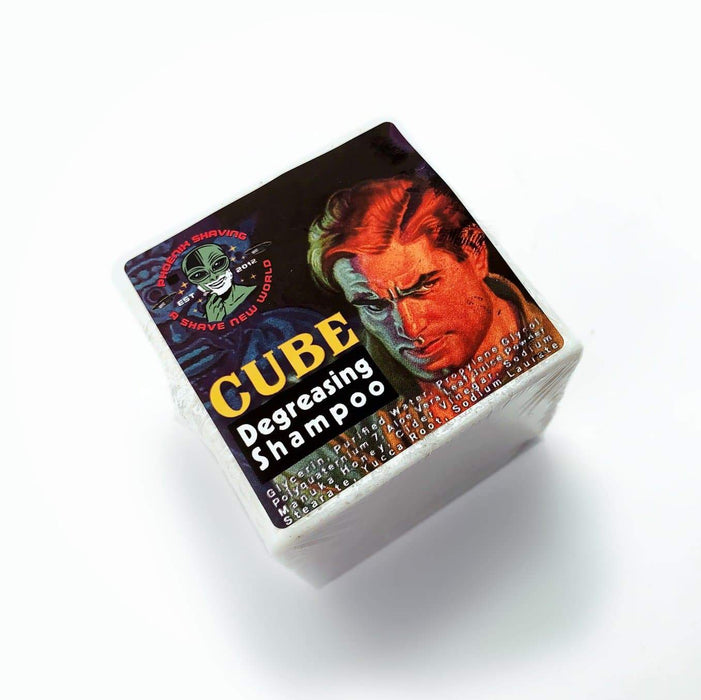 CUBE Pomade Degreaser Shampoo & Conditioner | Contains Aloe Vera, Yucca Root, Manuka Honey & Cider Vinegar | Future Fiction Scent - Phoenix Artisan Accoutrements