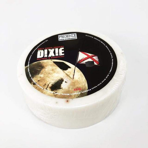 DIXIE Shampoo & Conditioner Puck - Official Dirty South Shavers Scent! - Phoenix Artisan Accoutrements