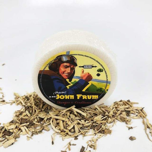 John Frum Shampoo & Conditioner Puck - Musk like never before! - Phoenix Artisan Accoutrements
