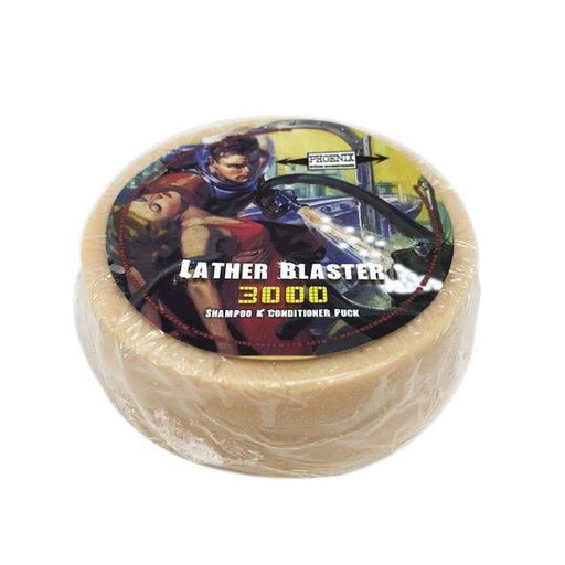 Lather Blaster 3000 Shampoo & Conditioner Puck - #RichManStrong - Phoenix Artisan Accoutrements