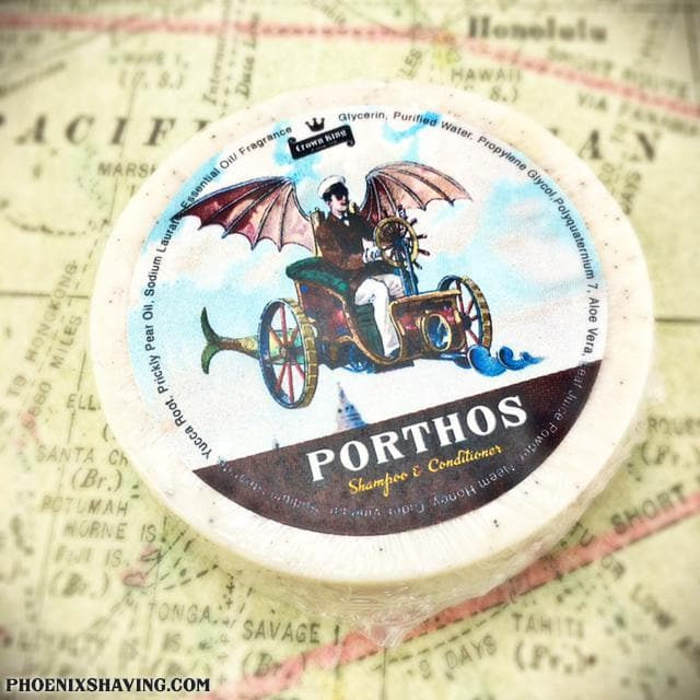 Porthos Shampoo & Conditioner Soap Puck ~ A Salute to the Classic, Aramis! - Phoenix Artisan Accoutrements