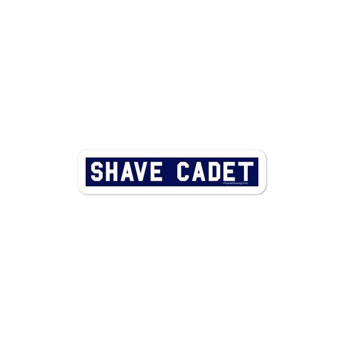 Shave Cadet Vinyl Bubble-Free Stickers - Phoenix Artisan Accoutrements