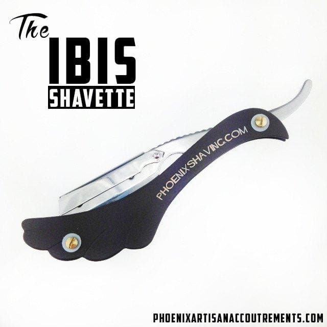 The IBIS Classic Shavette - Matte Black - Phoenix Artisan Accoutrements - 1