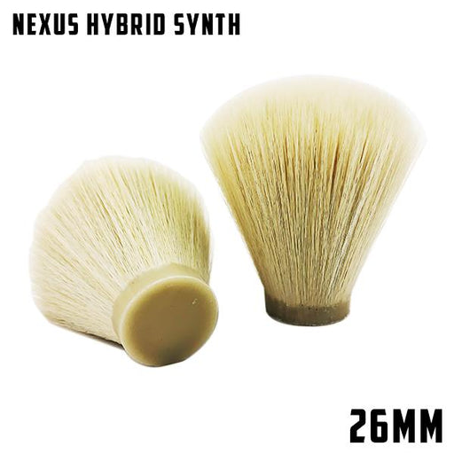Nexus Hybrid Synthetic 26mm knot | Bulb/Fan - Phoenix Artisan Accoutrements