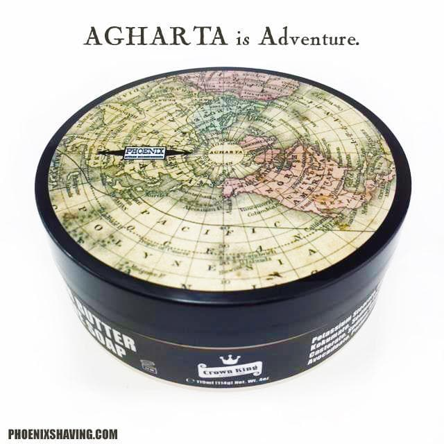 AGHARTA Epic Artisan Shave Soap - Part 3 of the Agharta Trilogy - Phoenix Artisan Accoutrements