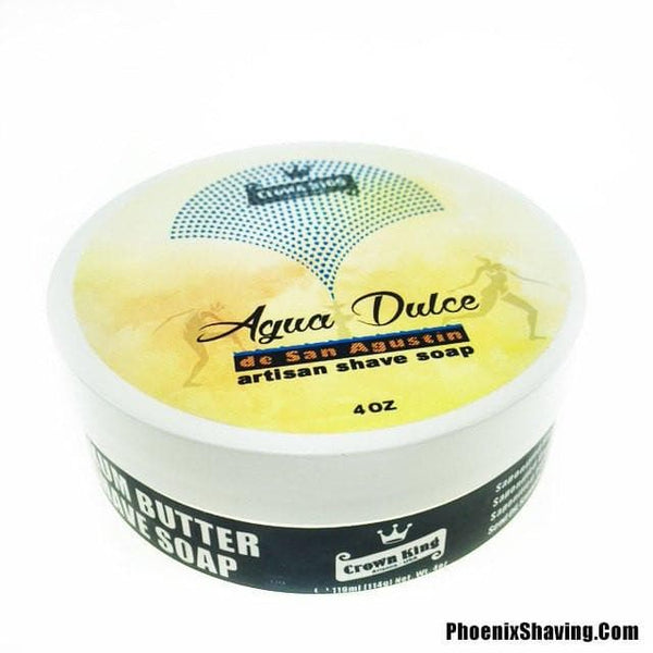 Shaving Soap - Agua Dulce De San Agustín Artisan Shave Soap - Crown King Formula