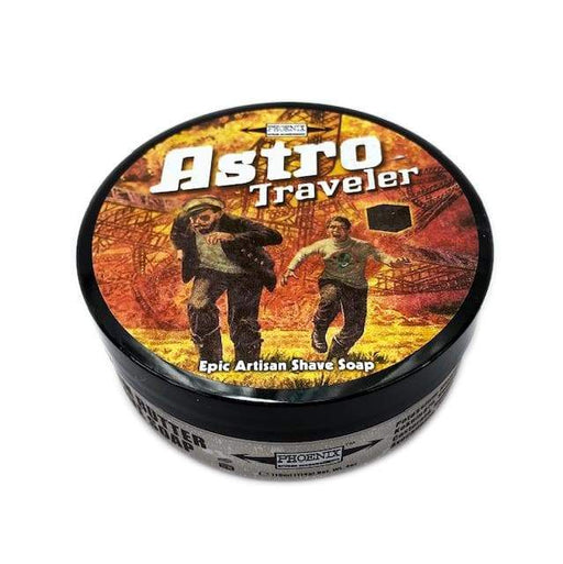 Astro Traveler Artisan Shaving Soap - 4oz | Epic Fall Seasonal Scent - Phoenix Artisan Accoutrements