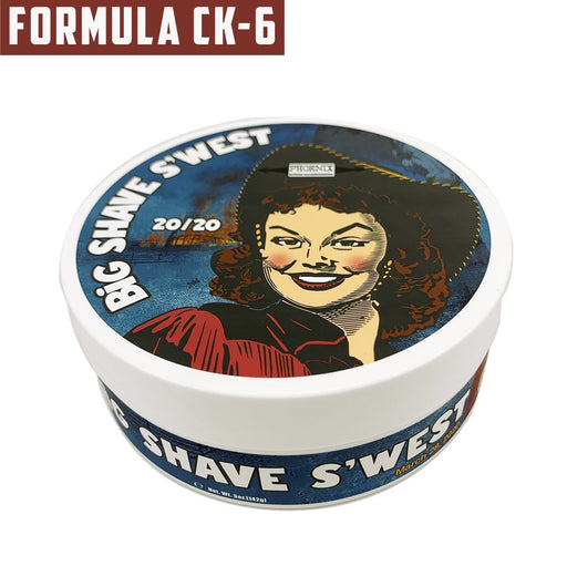 Big Shave S'west 20/20 Artisan Shaving Soap | Ultra Premium CK-6 Formula | 5 Oz - Phoenix Artisan Accoutrements