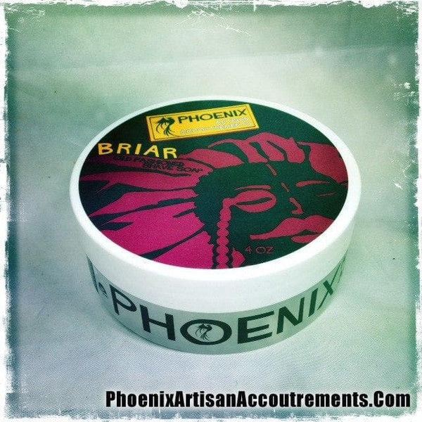Briar Old Fashioned Artisan Shave Soap - Phoenix Artisan Accoutrements - Phoenix Artisan Accoutrements