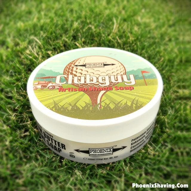Clubguy Artisan Shave Soap - Classic Barbershop Scent - Phoenix Artisan Accoutrements