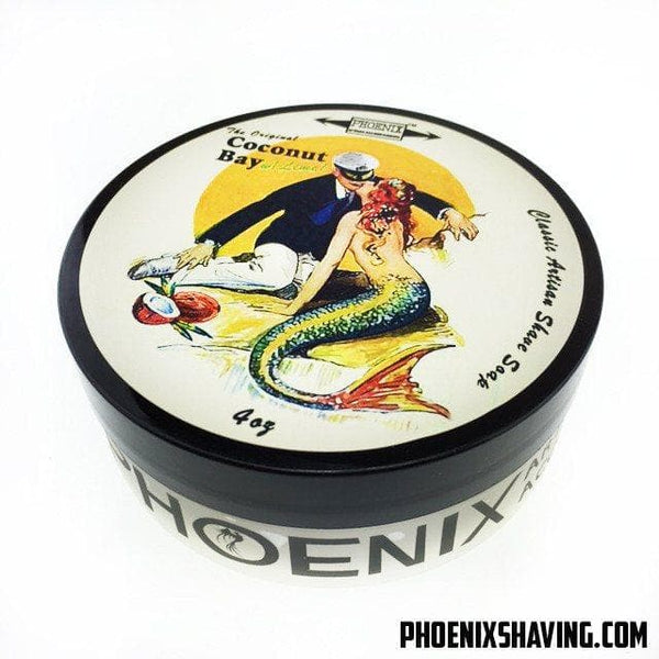Coconut Bay w/ Lime Classic Shaving Soap - Phoenix Artisan Accoutrements - Phoenix Artisan Accoutrements